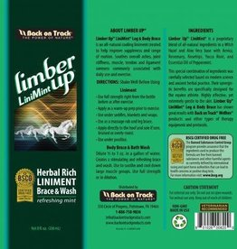 Back On Track Back On Track Limber Up Liniment 8oz