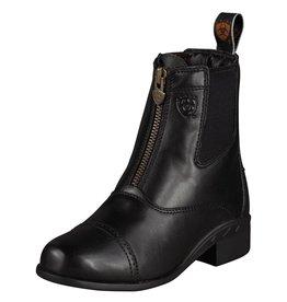 Ariat Ariat Devon III Kids Zip Paddock Boot-Black