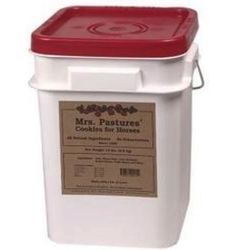 Mrs. Pastures Mrs. Pastures Cookies for Horses - 15lb Reusable Tub