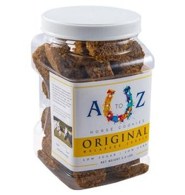 A TO Z A TO Z Horse Cookies - Original Molasses Flavor - 2.5lb Jar