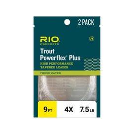 Rio RIO POWERFLEX PLUS LEADER - 2 PACK