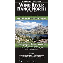 Beartooth Publishing Beartooth Map - Wind River Range North