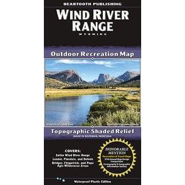 Beartooth Publishing Beartooth Map - Wind River Range