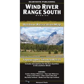 Beartooth Publishing Beartooth Map - Wind River Range South