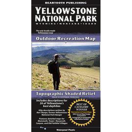 Beartooth Publishing Beartooth Map - Yellowstone National Park