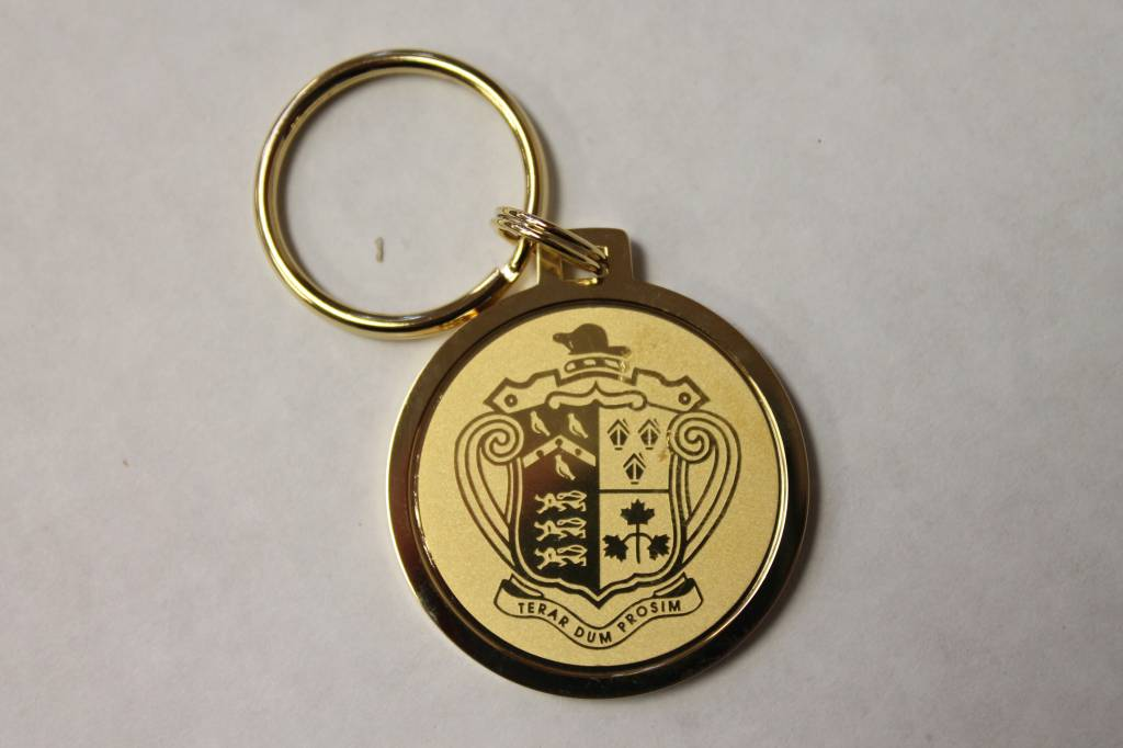 Gold Split Wire Key Ring (15Q/G-G)