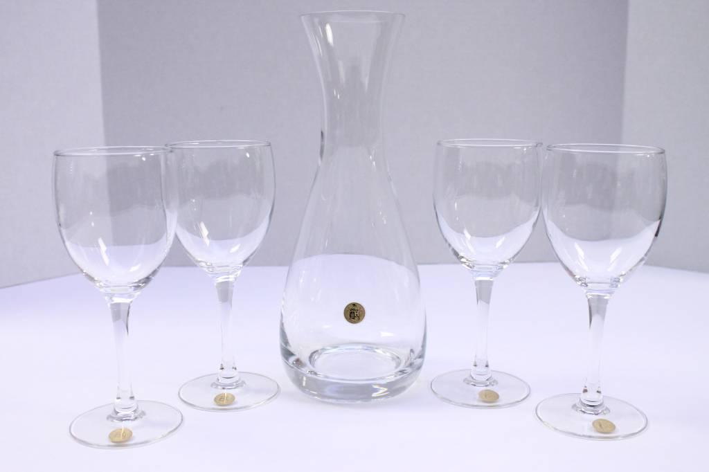 Wine Set - Decanter & Glasses
