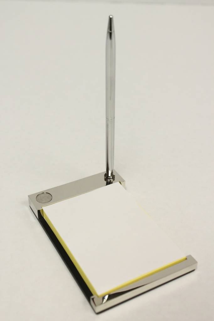Note Pad Holder & Pen