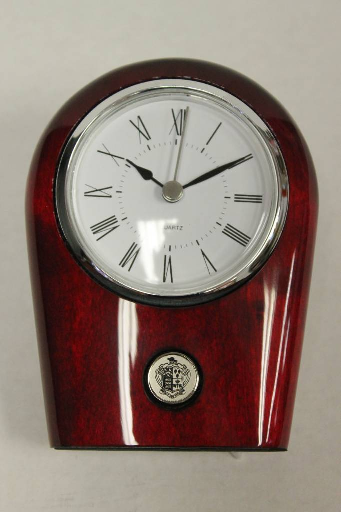 Rosewood Palm Clock (16Y-Silver)