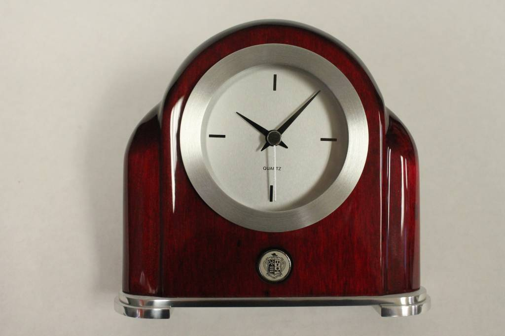 Rosewood Clock - Art Deco