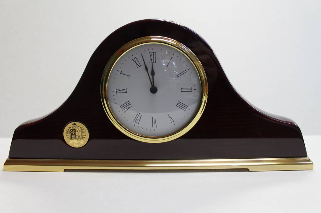 Mantle Clock - Piano Wood