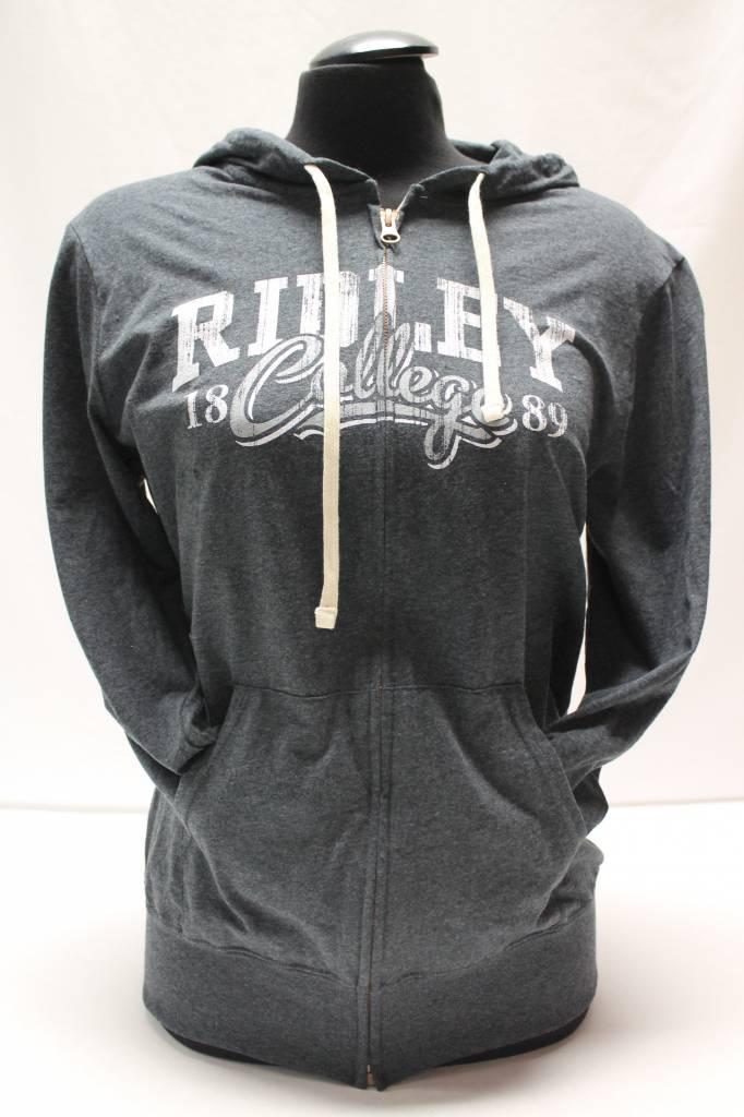 Ladies Zip Sweatshirt