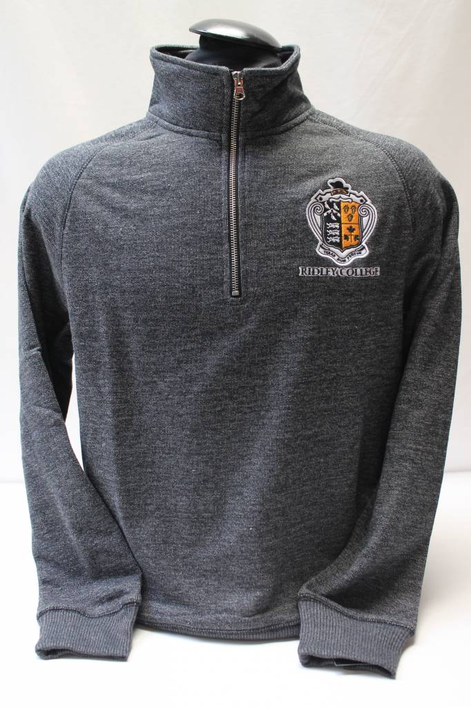 Bardown 1/4 Zip Grey Sweatshirt