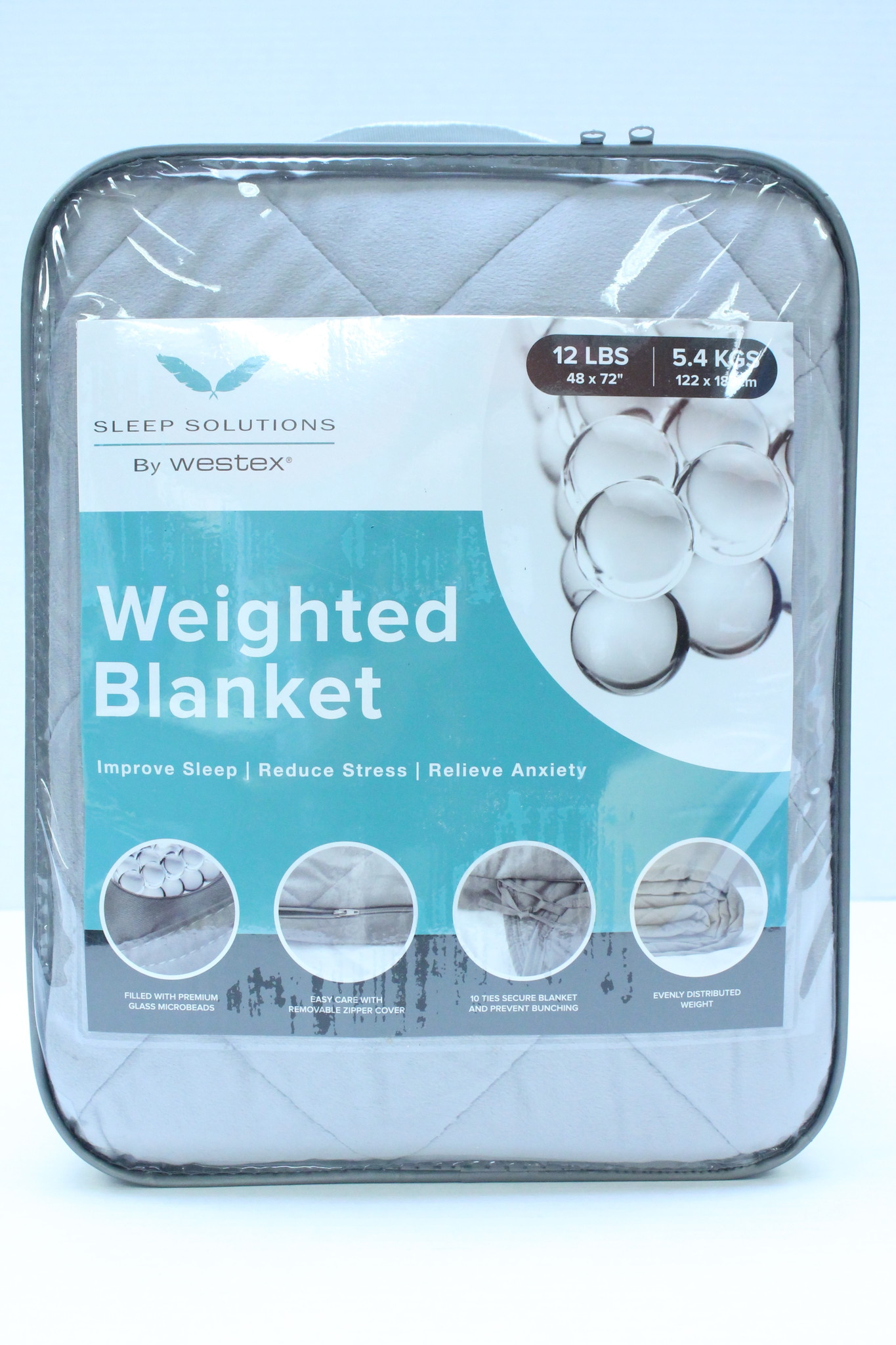 Weighted Blanket - 12 lbs Twin size