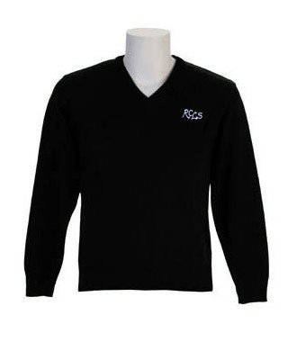 Lower School Black Sweater-Youth Sizes