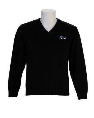 Lower School Sweater-Black-Youth Sizes