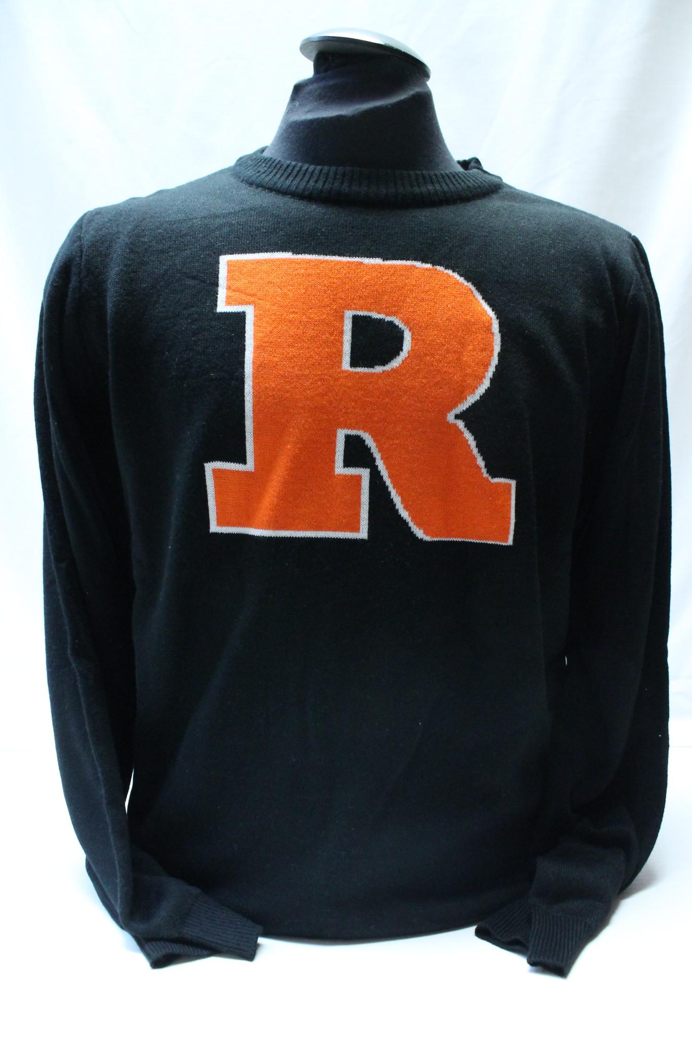 "Bardown Knit ""R"" Sweater"