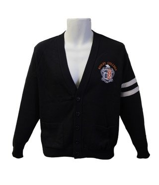 Classroom Dress - Navy Cardigan
