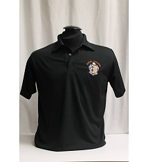 Black Cadet Polo Shirt
