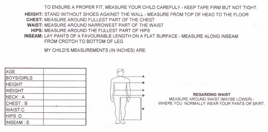 Sports Dress - Yoga Pants (Youth Sizes)