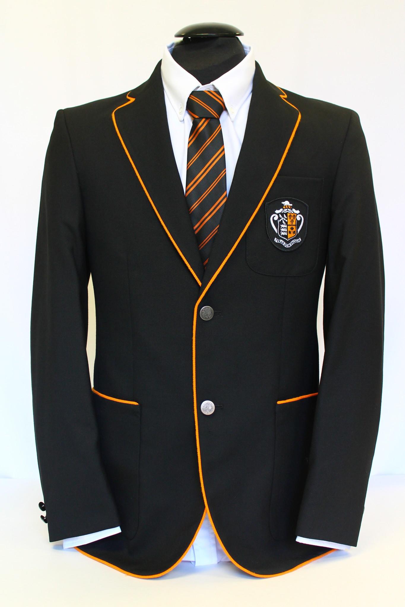 Formal Dress - Black Blazer Men's