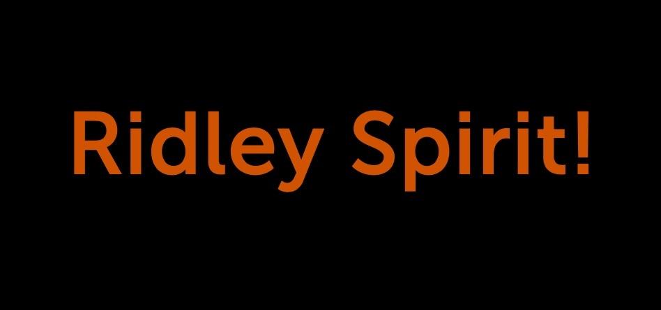Ridley School Spirit!