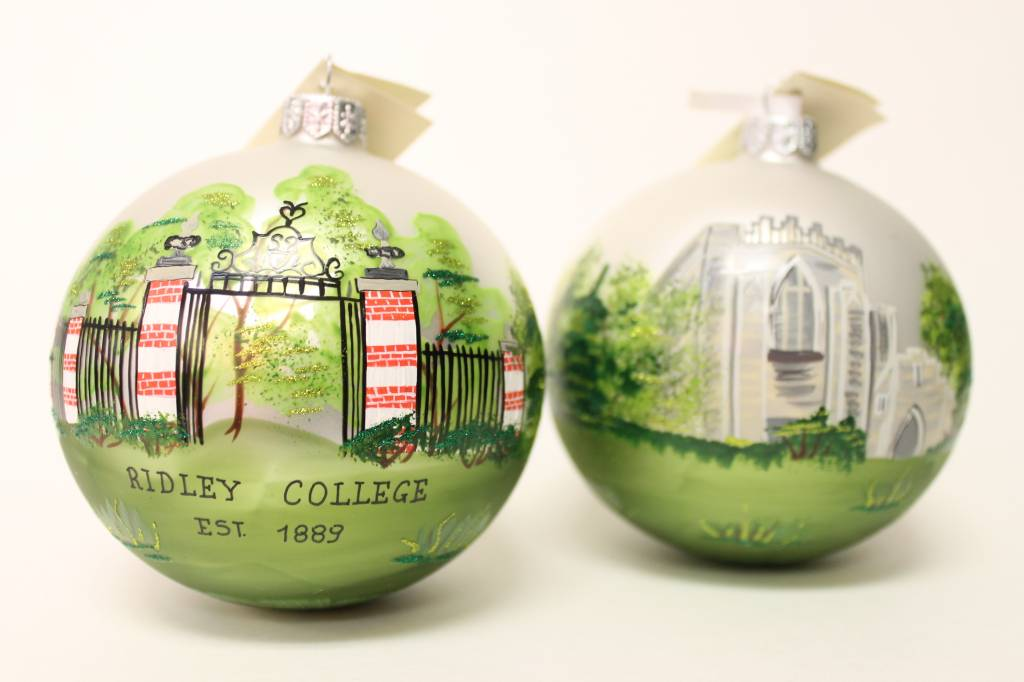 Ornament - Hand Painted Ball Christmas