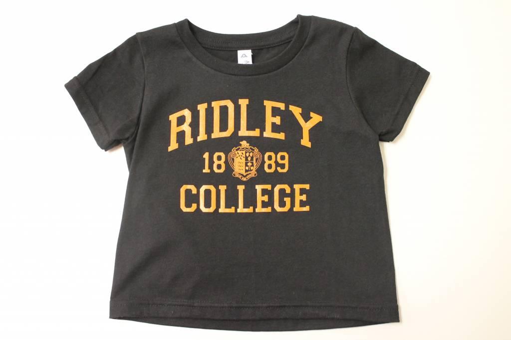 Youth Black w/orange Ridley T-shirt