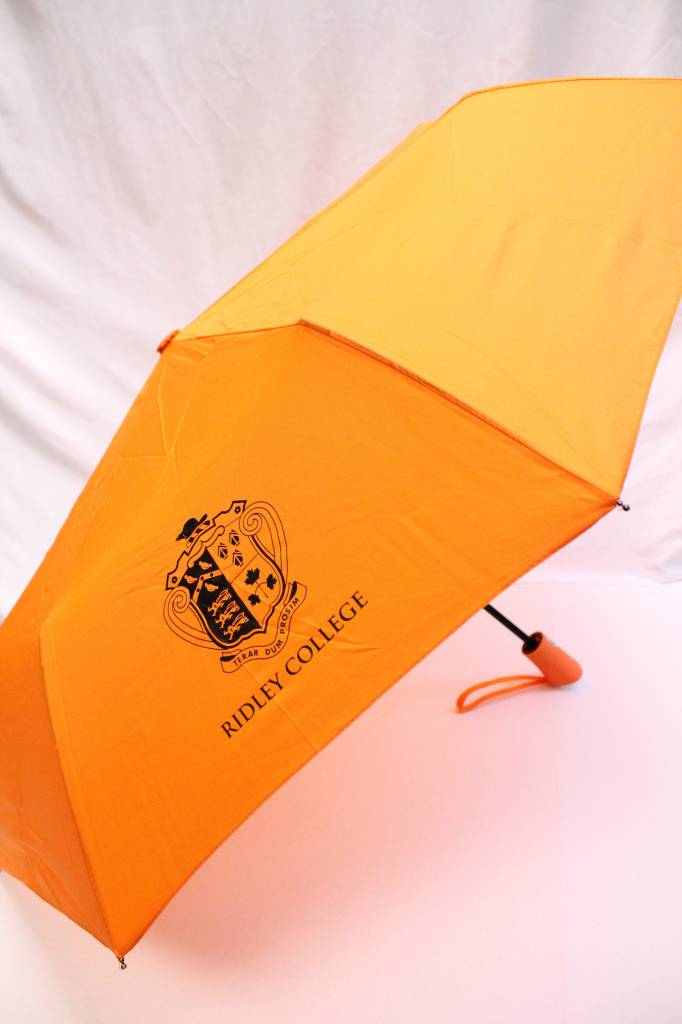 Orange Folding Umbrella-42""