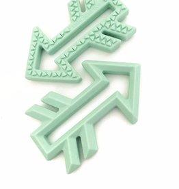 OneChewThree OneChewThree Arrows Silicone Teether Marble