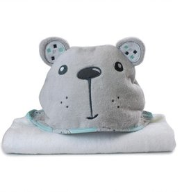 Bubba Blue Bubba Blue Beary Happy Novelty Bath Towel