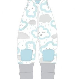 Baby Studio Baby Studio Winter Warmies - No Arms 2.5 Tog Clouds - Peppermint