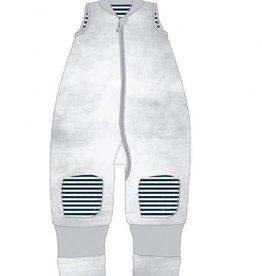 Baby Studio Baby Studio Winter Warmies No Arms 2.5 Tog Distressed Stripes
