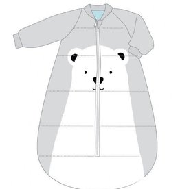 Baby Studio Baby Studio Fleece Studio Bag with Arms - 3.5 Tog Polar Bear