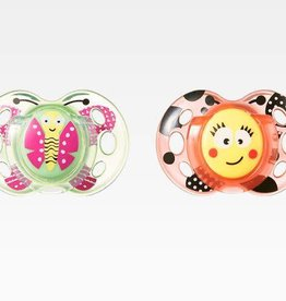 Tommee Tippee Tommee Tippee Closer To Nature Fun Style Soother (2Pk)
