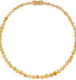 Bambeado Bambeado Natural Amber Necklace