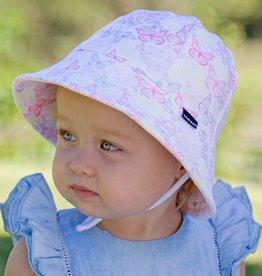 Bedhead Bedhead Girls Baby Bucket Hat 'Butterfly' Print 37cm / 0-3months / XXS