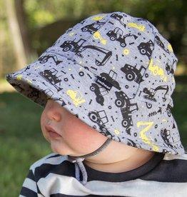 Bedhead Bedhead Boys Baby Bucket Hat 'Digger' Print