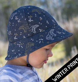 Bedhead Bedhead Boys Baby Bucket Hat - Bear