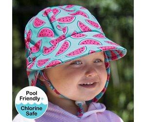 Bedhead Bedhead Girls Beach Legionnaire Hat UPF50+ 'Watermelon' Print