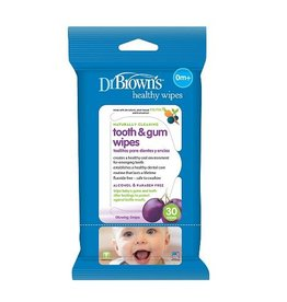 Dr Browns Dr Browns Healthy Wipes Tooth & Gum