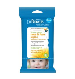 Dr Browns Dr Browns Healthy Wipes Nose & Face
