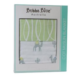Bubba Blue Bubba Blue Sahara Cot Muslin Blanket