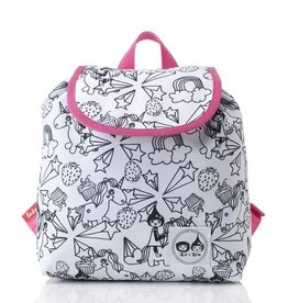 Babymel Zip & Zoe Colour & Wash Backpacks Unicorn - NEW Xmas stocking idea!