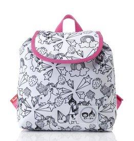 Babymel Zip & Zoe Colour & Wash Backpacks Unicorn - NEW Xmas stocking idea!