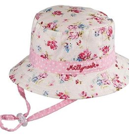 Millymook Millymook Girls Vintage Bucket Hat - Floral