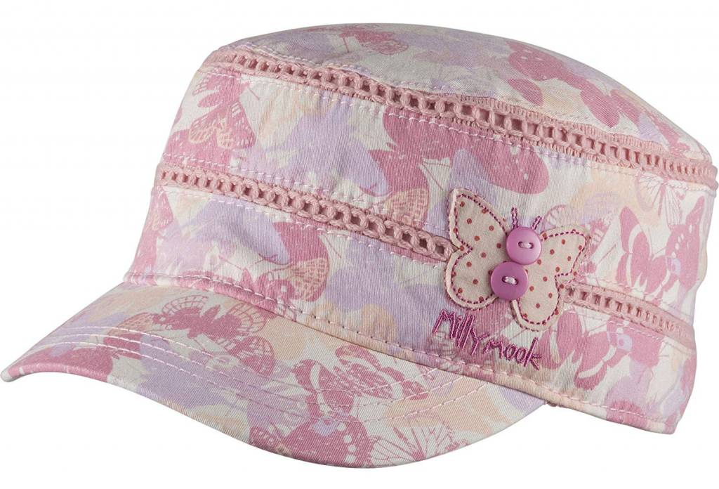 f50c30a0943 Millymook Girls Mao Cap - Destiny Pink (1 size fits most) - Sweet Lullabies