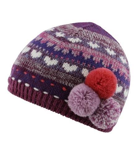 Millymook Baby Girls Beanie - Bethany Purple - Sweet Lullabies 31632fd4993