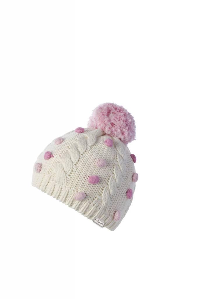 Millymook Baby Girls Beanie - Lara Cream - Sweet Lullabies edf9f20a363