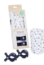 All4Ella All4Ella Single Wrap Bamboo & 2 Pram Peg Box Set